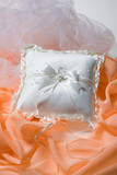 Little satin pillow for accessories poster
