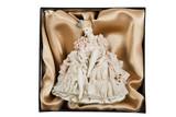 Antiquarian elegant porcelain doll in a box poster