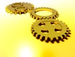 five gold cogs
