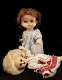 Dark series - vintage killer doll poster