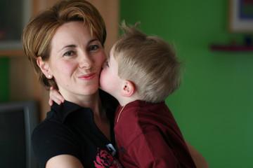 L'amour d'un enfant pour sa maman