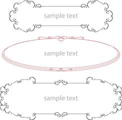 Frame Design (Design Element frame)