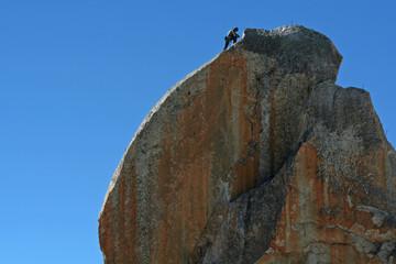 Escalade au sommet