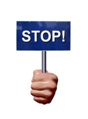 Dire stop!