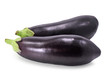 aubergine isolated on white background