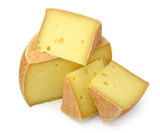 Fototapety cheese isolated on white background