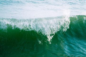 Crashing wave.