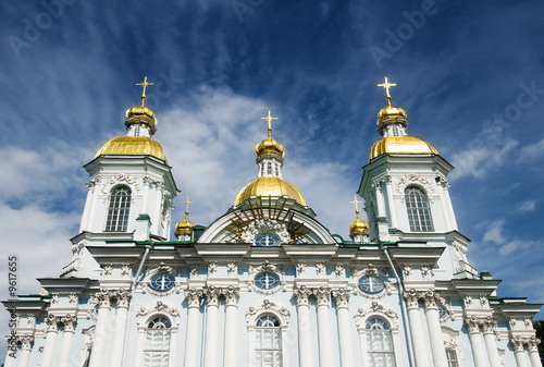 St.Nicholas Marine Cathedral at St.Petersburg, Russia