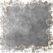 枠付きの灰色の背景