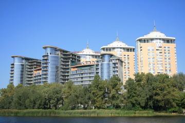 Contemporary architecture of Kiev