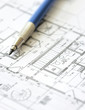 House plan blueprint - Architect design