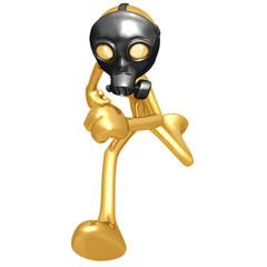 Gas Mask Running