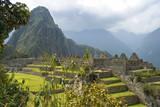 Hidden Inca sanctuary of Machupicchu. Cusco, Peru poster