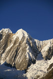 Jirishanca mountain in high Andes,  Cordillera Huayhuash,