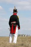 Russian military uniform of Crimean War poster