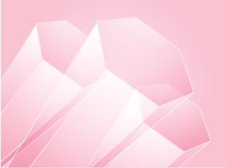 Abstract illustration wallpaper of 3d geometric hexagon