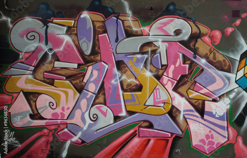 Fototapeta Graffiti Streetart Berlin