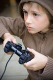 jeux vidéo enfant manette addiction dépendance écran console joy poster