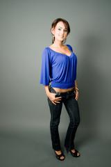 blue latina