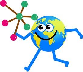 molecule globe