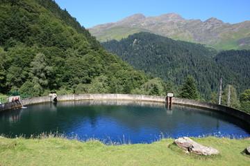Citerne - centrale hydroélectrique du Chiroulet (Pyrénées)