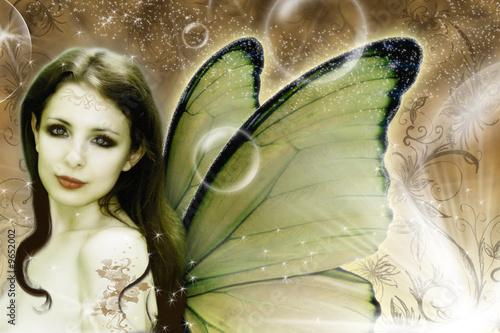 Leinwandbilder,fairy,menge,fairy,blume