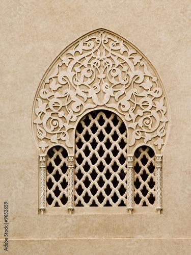 fenêtre orientale