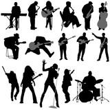 Fototapety musician vector