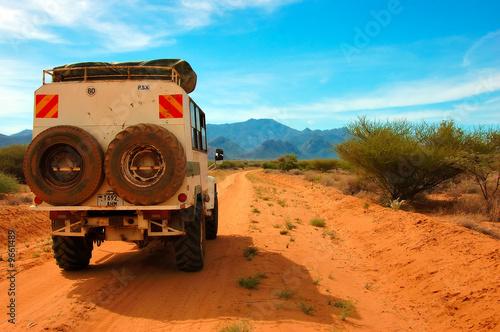 Fotobehang Overige Road from Lake Turkana to Maralal