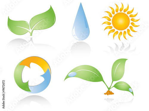 set of environmental icons.Elements for your design