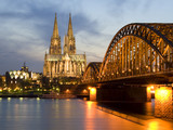 Fototapety Cologne by Night 01