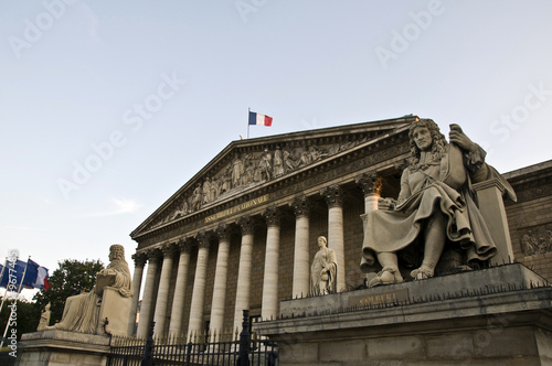 Assemblée Nationale à Paris
