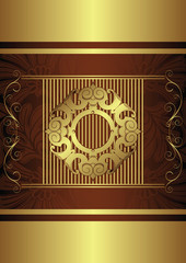 chocolate design background