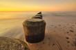 Fototapete Abendstimmung - Sonnenuntergang - Strand