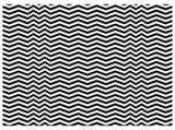 zigzag texture in vector, black and white poster