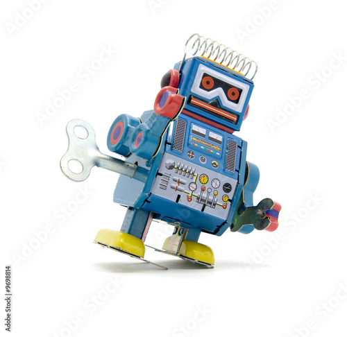old robot toy - 9698814