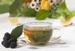Tee mit Brombeere
