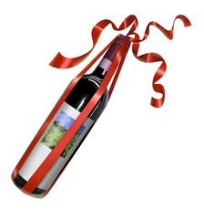 regalo in rosso