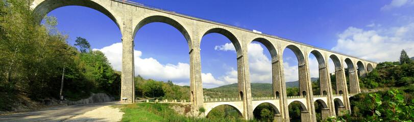 Viaduc de Cize Bolozon, Ain, France