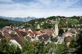 Townscape od Feldkirch, Vorarlberg, Austria. poster