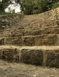 Escalier en pierres HDR poster