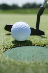 Golf Ball and Putter