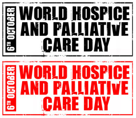 october 6 - world hospice and palliative care day