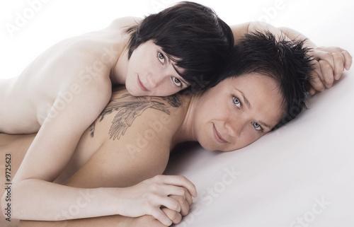 Lesben kuscheln