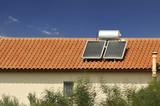 Fototapety Chauffe-eau solaire grec