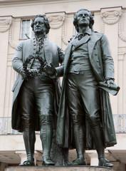 Goethe et Schiller