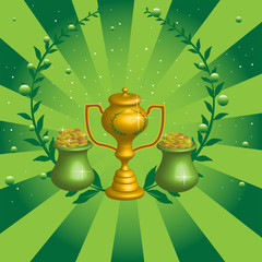 Golden winner cup