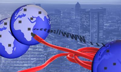 Weltweite Verbindung