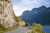 summer north norwegian landscape poster