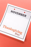 Thanksgiving Day poster